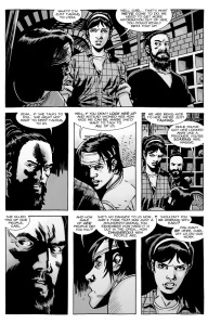 The Walking Dead #137- Carl speaks in Lydia's defense