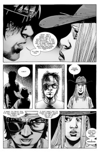 The Walking Dead #137- Carl wants to be able to trust Lydia