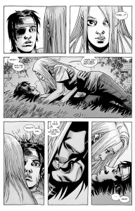 The Walking Dead #137- Lydia asks Carl if he's ever had sex