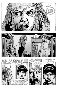 The Walking Dead #137- Maggie argues with Tammy
