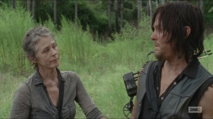 Them- Carol and Daryl talk