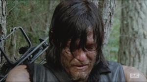 Them- Daryl cries