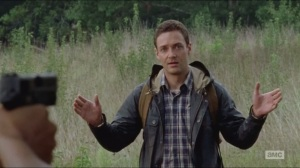 Them- Introduction of Aaron, played by Ross Marquand