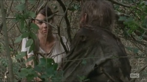 Them- Maggie calmly prepares to kill a walker