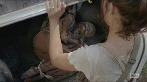 Them- Maggie finds a bound and gagged walker
