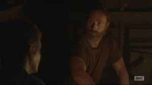 Them- Rick talks about the walking dead