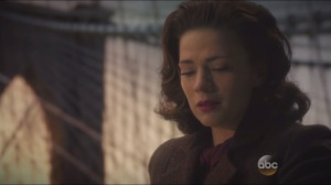 Valediction- Peggy pours out Rogers' blood
