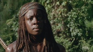 What Happened and What's Going On- Michonne asks Rick and Glenn if they'd want just one more day with a chance