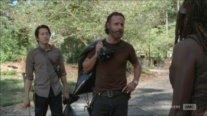 What Happened and What's Going On- Michonne proposes going to Washington