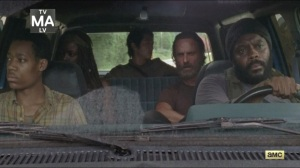 What Happened and What's Going On- On the road with Noah, Tyreese, Michonne, Glenn, and Rick