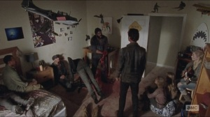 What Happened and What's Going On- Tyreese surrounded by the dead