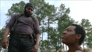What Happened and What's Going On- Tyreese talks with Noah