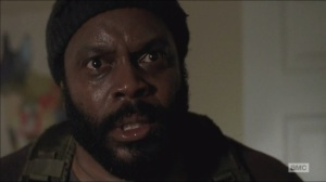 What Happened and What's Going On- Tyreese yells at the Ghost Governor