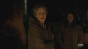Conquer- Carol speaks in defense of Rick