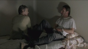 Conquer- Carol speaks with Rick about tonight's meeting and their plan