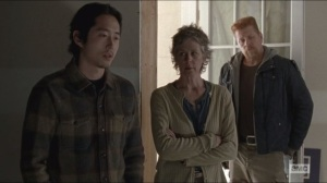 Conquer- Glenn compares Rick's plan to Terminus