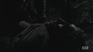 Conquer- Glenn puts a gun to Nicholas' head