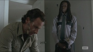 Conquer- Michonne tells Rick to get ready