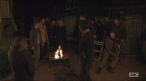 Conquer- Rick delivers a walker to the town