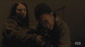 Conquer- Sasha considers shooting Gabriel