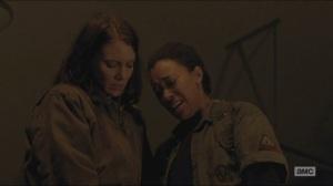 Conquer- Sasha gives Maggie her gun