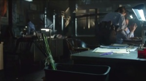 Everyone Has a Cobblepot- Flowers in the trash
