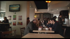 Everything's So Fucking Obvious, I'm Starting to Wonder Why We're Even Having This Conversation- Harvey and Clyde at a cafe