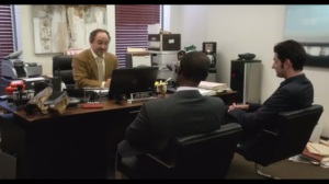 Everything's So Fucking Obvious, I'm Starting to Wonder Why We're Even Having This Conversation- Marty, Clyde, and Doug talk with Joe Gideon, played by Kevin Pollak
