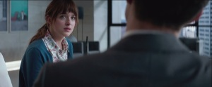 Fifty Shades of Grey- Anastasia looks lost or scared
