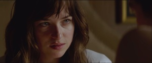 Fifty Shades of Grey- Anastasia stares