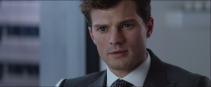 Fifty Shades of Grey- Christian during the interview