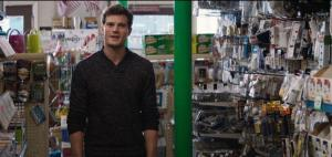 Fifty Shades of Grey- Christian randomly shows up at Clayton's