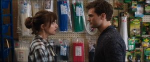 Fifty Shades of Grey- Christian shows up unannounced at Clayton's where Anastasia works