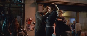 Fifty Shades of Grey- Christian stops José from kissing Anastasia