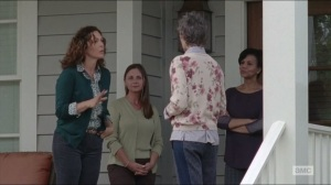 Forget- Carol blends in with the other women