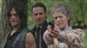 Forget- Carol shoots a walker