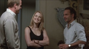 Forget- Jessie introduces Rick to her husband, Pete, played by Corey Brill