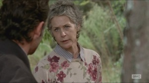 Forget- Rick and Carol talk about the armory