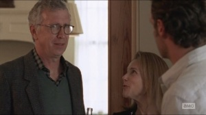 Forget- Rick meets Deanna's husband, Reg, played by Steve Coulter