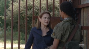 Forget- Sasha meets Deanna at the gate