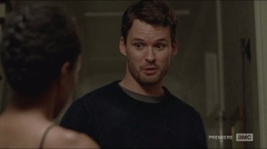 Forget- Sasha meets Deanna's son, Spencer, played by Austin Nichols