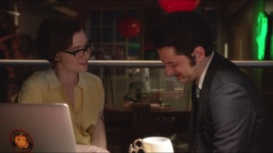 He Didn't Mean That, Natalie Portman- Kelsey cheers up Clyde