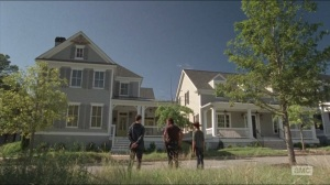 Remember- Aaron shows Rick and Carl two homes