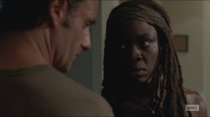 Remember- Michonne and Rick on being cautious
