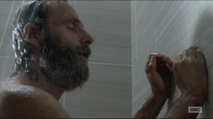 Remember- Rick takes a shower