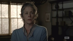 Spend- Carol tells Rick that he'll have to kill Pete