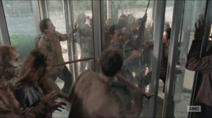 Spend- Glenn, Noah, and Nicholas stuck in the revolving door