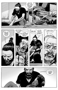 The Walking Dead #138- Jesus attacks Gregory and saves Maggie