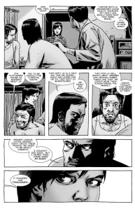The Walking Dead #138- Ken and Dante tell Maggie about The Whisperers