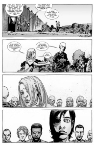 The Walking Dead #138- Lydia leaves with Alpha and the rest of The Whisperers